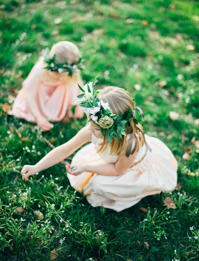 little girl flower crowns