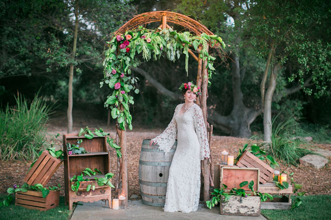 Dreamers and Lovers wedding dress