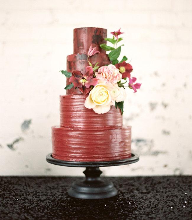 marsala inspired cake