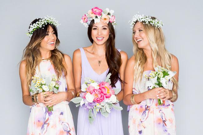 05eabe3debdc Introducing the GWSxMumu Wedding Bells Floral Bridesmaids Dresses ...