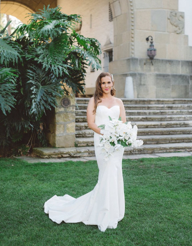 Palm Beach Inspired Bride