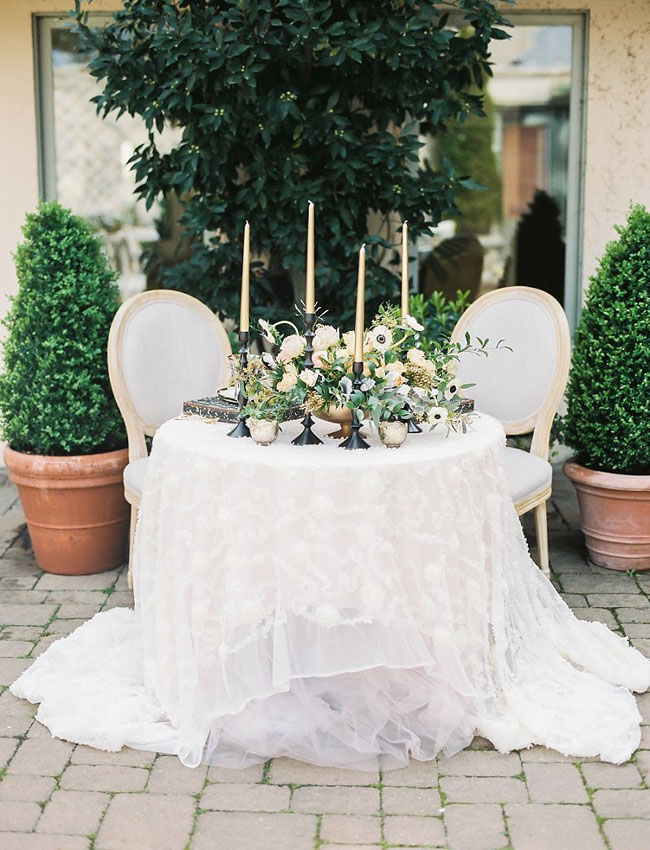 Paris Inspired Tablescape