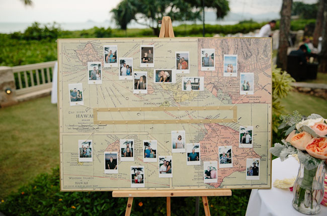 map polaroid board