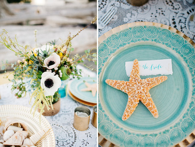 starfish plate setting