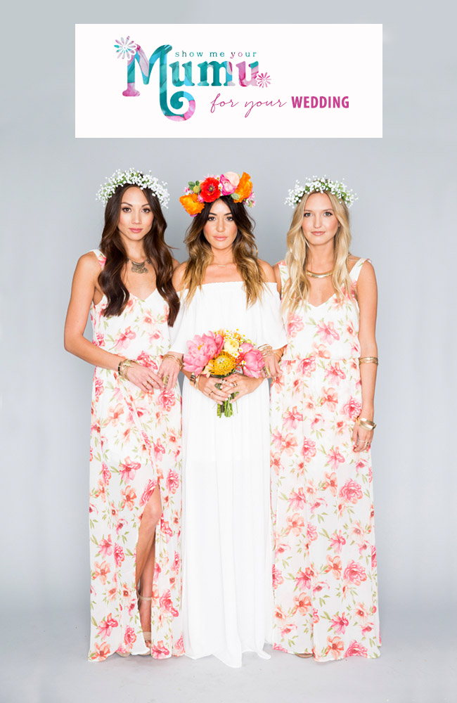 Show Me Your Mumu Wedding Collection