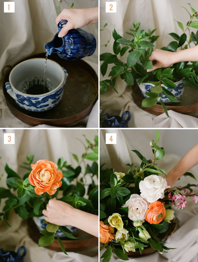 DIY Dutch Floral Arrangement