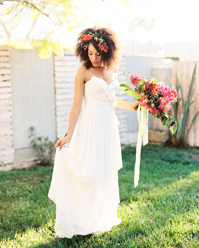 Lime Green Wedding Dress 28 Awesome Tropical Neon Inspiration