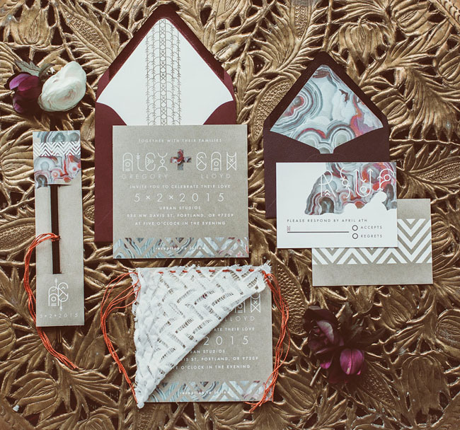 Urban Boho Invitation