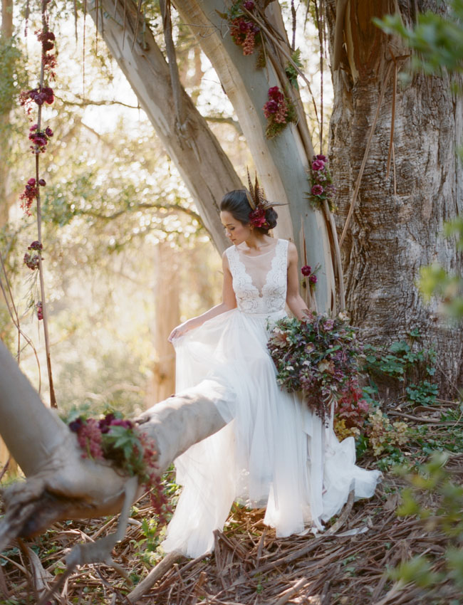 Wild whimsical wedding inspiration green wedding shoes for Woodland fairy wedding dress