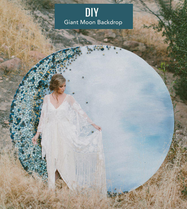 DIY Giant Moon Backdrop