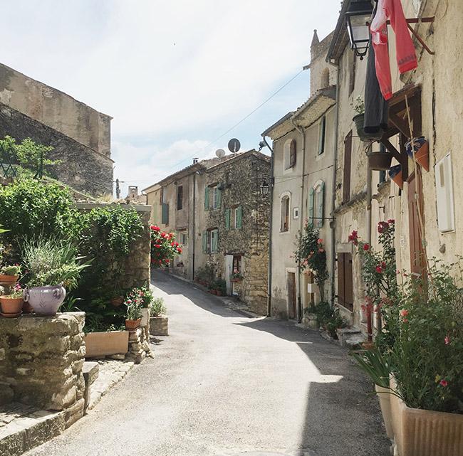 Honeymoon in Provence