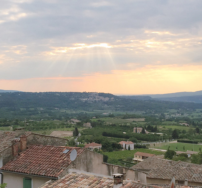 Honeymoon in Provence
