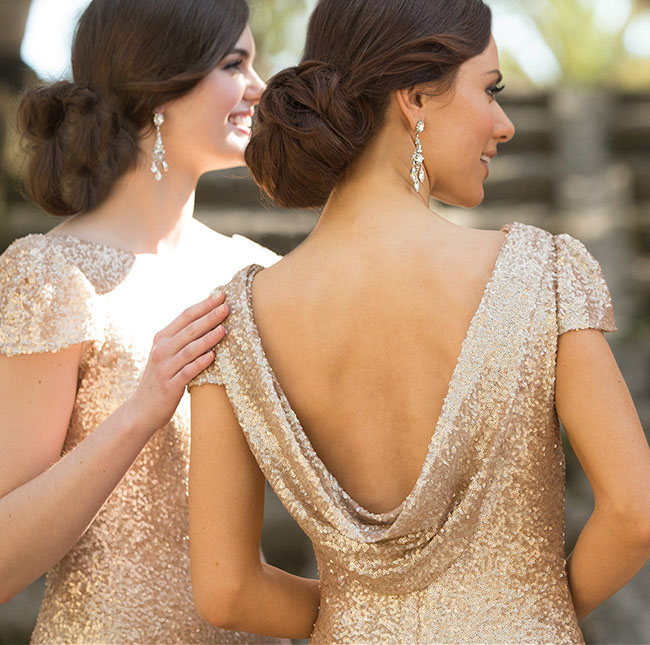 Wedding Dresses Texas 79 Trend sequin dress back view