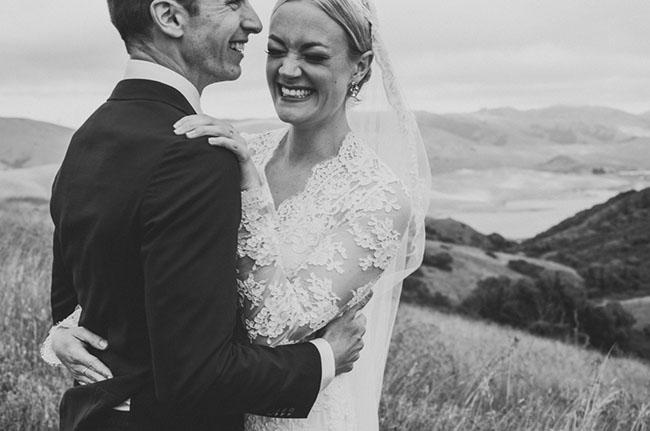 California Hilltop Wedding