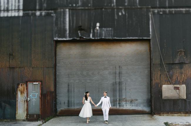 Bourbon Brooklyn Wedding