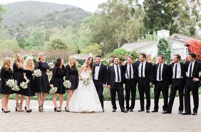 Classic White + Lavender Wedding: Christine + Jordan - Green ...