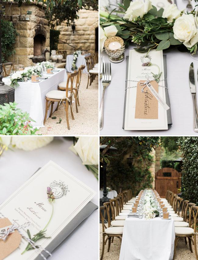 lavender reception details
