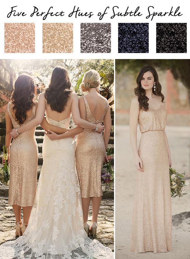 essense_aessense of australia metallic bridesmaids dress