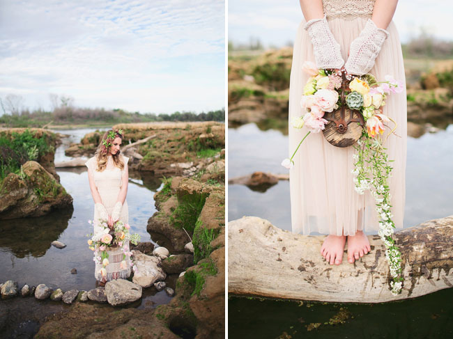 Ethereal River Bride