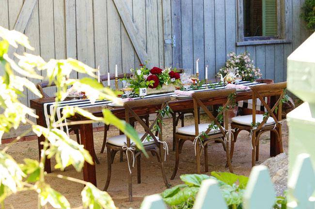 garden inspired shoot