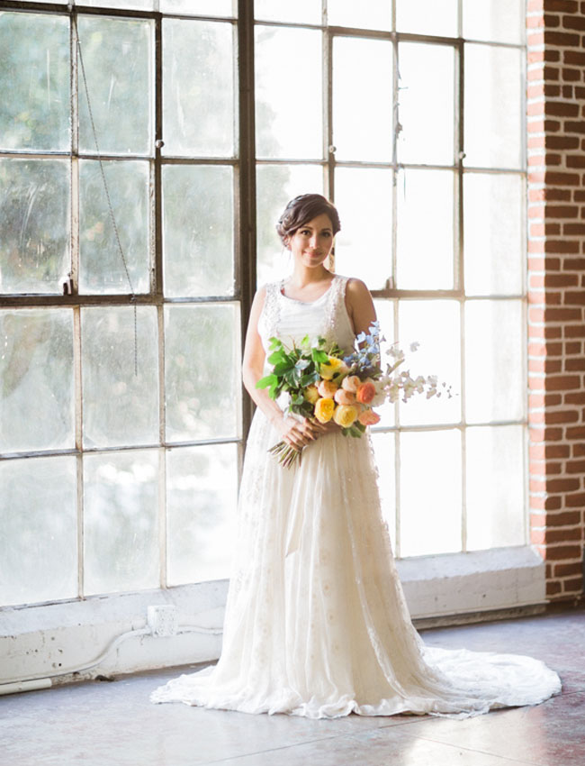 Madeleine Fig Wedding Dress