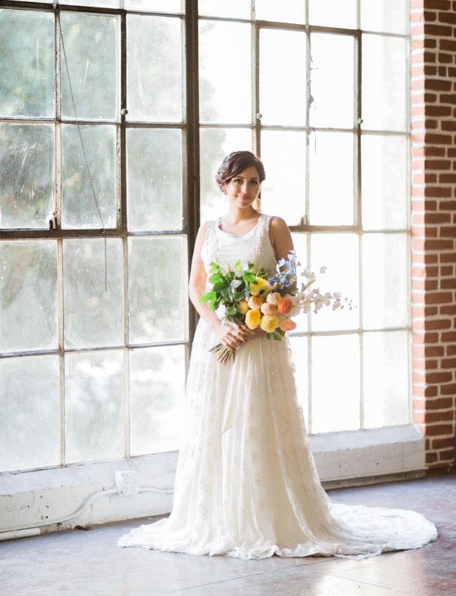Madeleine Fig Wedding Dress