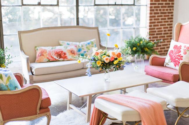 Modern Spring lounge
