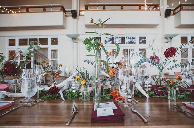 bud vase centerpieces