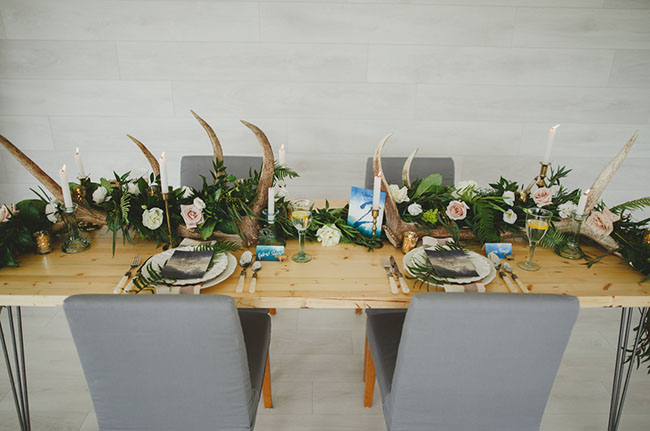 ethereal table decor