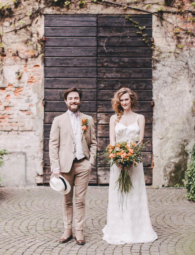 Rustic Italian Wedding Inspiration Green Wedding Shoes