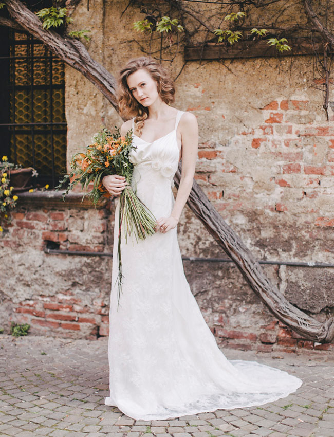 Rustic Italian Wedding Inspiration - Green Wedding Shoes