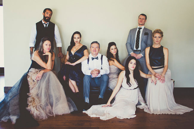 Vanity Fair Inspired Wedding