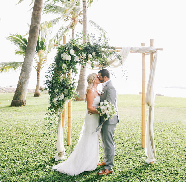 Romantic hawaiian plantation wedding jenn bryan green wedding hawaii wedding junglespirit Images
