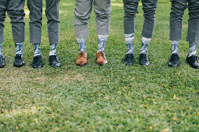 tropical groomsmen socks