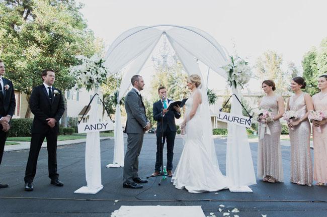 CBS Backlot Wedding