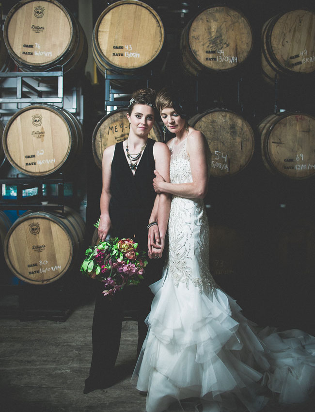 Distillery Inspired Wedding