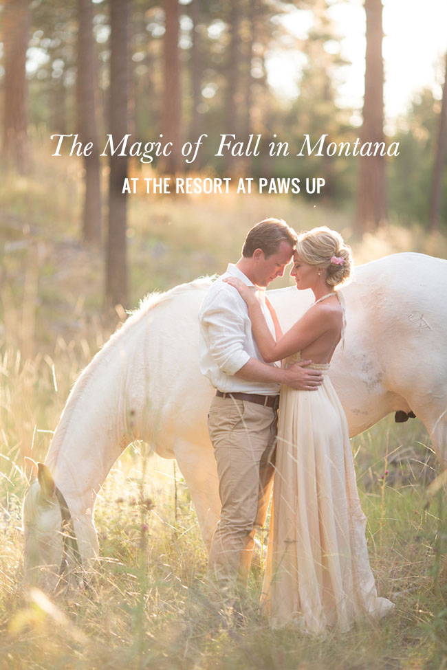 Montana Fall Elopement at the Resort at Paws Up