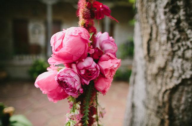 pink flower rope