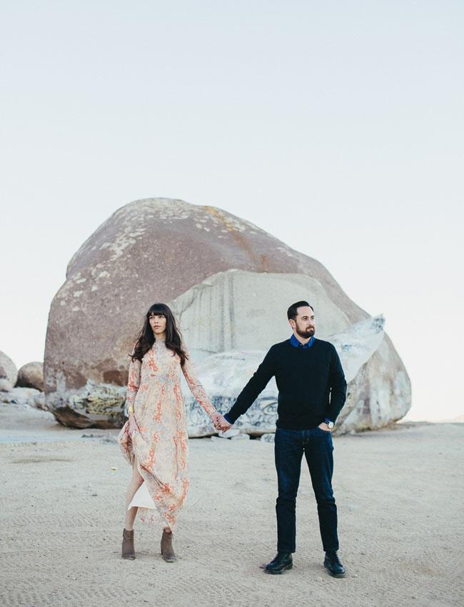 Giant Rock Landers Engagement