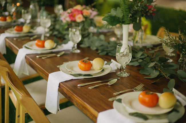 veggie plate settings