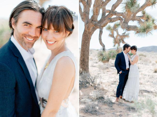 DIY Joshua Tree Wedding