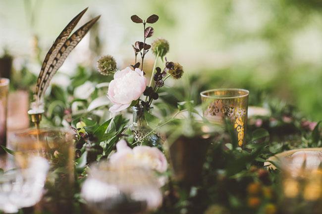 Lakeside bohemian bridal shower