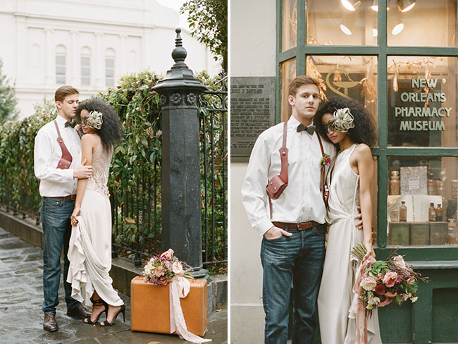 Romantic New Orleans Elopement