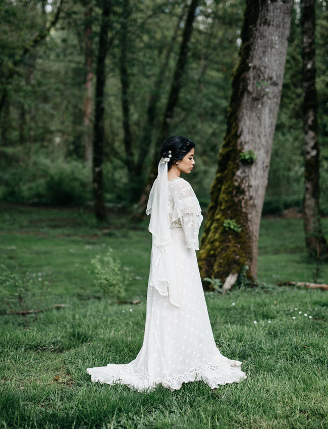 Vintage-Inspired Wedding Gowns