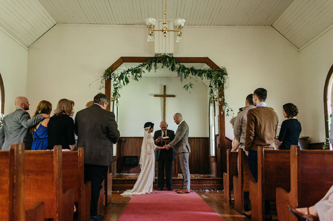 Pioneer Church Wedding