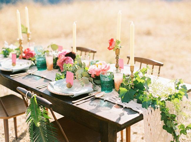boho tablescape inspiration