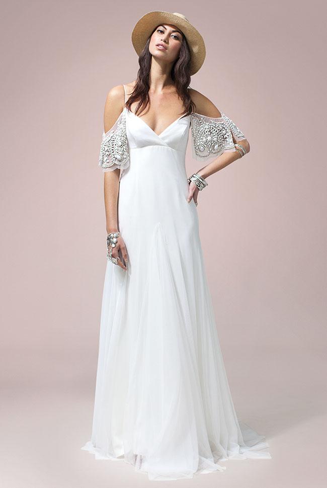 Wedding Dresses Blue And White 85 Vintage Rue de Seine Nomadic