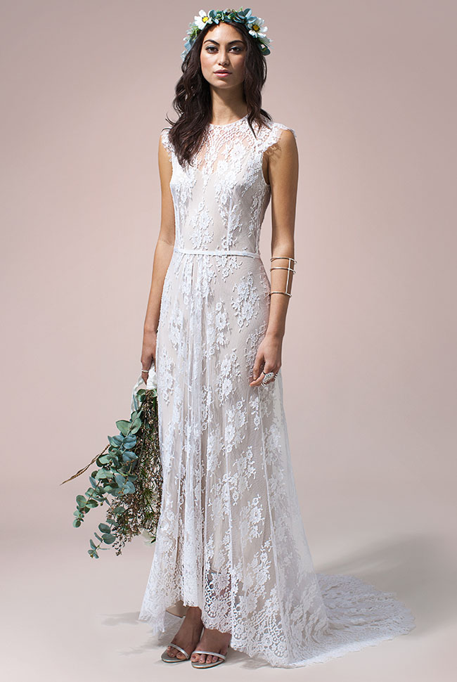 Rue De Seine Nomadic Love Wedding Dress Collection Green