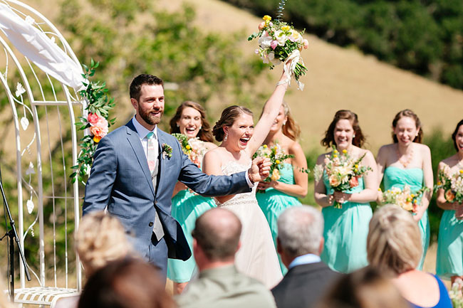 Spring San Luis Obispo Wedding