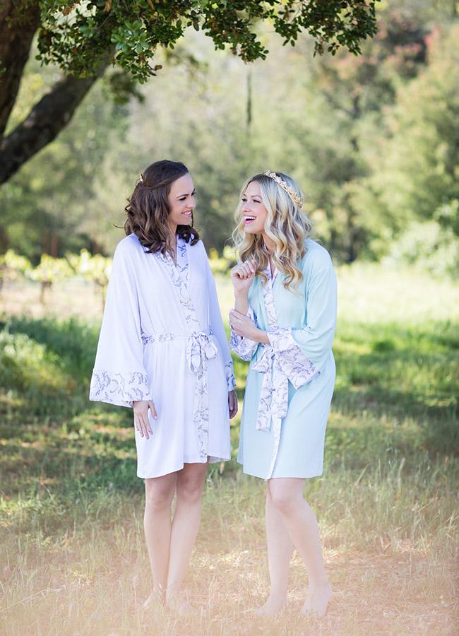 Doie Lounge bridesmaids robes